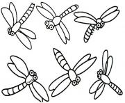Print dragonfly s of animalseeac coloring pages