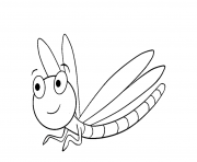 Print cute dragonfly s of animalseed1 coloring pages