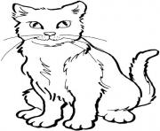 Print animal s for girls cats5627 coloring pages
