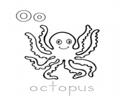 alphabet s sea animal octopus8aab coloring pages