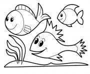 coloring pages for girls animals fish245e