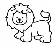 Print lion s for girls animals33a4 coloring pages
