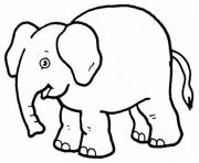elephant preschool s zoo animals0d63 coloring pages