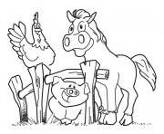 Print preschool s farm animalsdc3a coloring pages
