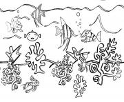 Print coloring pages of sea animals free54a4 coloring pages