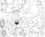 Print coloring pages of sea animals to print9fac coloring pages