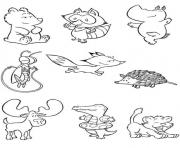 Print free s of animals baby zooa79d coloring pages