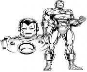 Print iron man s printable free3155 coloring pages
