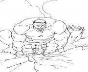 Print stronger hulk sc5d7 coloring pages