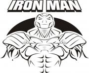 Print Iron Man cover 6019 coloring pages
