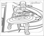 avengers captain america s for kids7dfd coloring pages