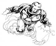 Print iron man movie sc725 coloring pages