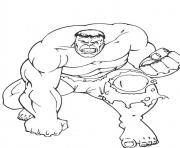 awesome hulk s5b3f coloring pages