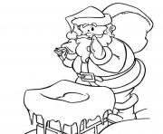 carefull santa 31ab coloring pages