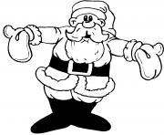 Printable warm santa christmas s for kids5d2f coloring pages