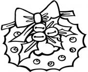 preschool wreath free s for christmas7f94 coloring pages