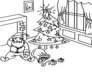 fall down santa s for kids printabledc9c coloring pages