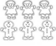 gingerbread man s free christmasdd0a coloring pages