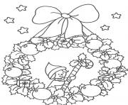free s christmas wreath47c5 coloring pages