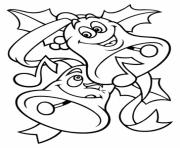 Printable free s for christmas bells for kids2389 coloring pages