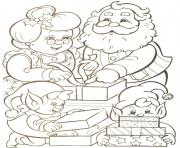 Printable families of mr santa claus christmas s printable1ba9b coloring pages