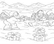 Printable printable s christmas elves1138 coloring pages