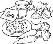 Printable christmas s for kids gingerbread for santa2fb2 coloring pages