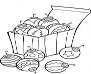 ornaments for christmas tree 8541 coloring pages