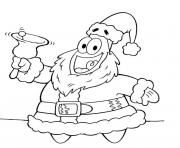 Printable patrick santa s of christmas9719 coloring pages