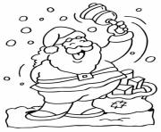 Printable santa s freea961 coloring pages