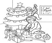 decorate s for christmas kidsbc35 coloring pages
