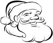 Printable free santa claus sc468 coloring pages