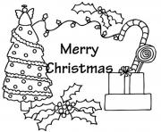Printable presents and tree free s for christmasc9f3 coloring pages