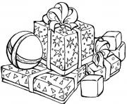 Printable presents for christmas s printable09b1 coloring pages
