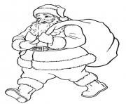 santa christmas s printable free9e1a coloring pages