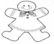 christmas gingerbread s1671 coloring pages