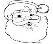 Printable the old happy santa claus sea72 coloring pages