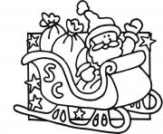 coloring pages of santa claus2174
