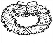 Printable free s for christmas wreath for preschool5c12 coloring pages