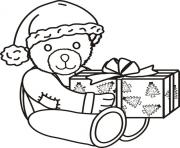 Printable presents free christmas s6247 coloring pages