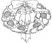 Printable adorable wreath free s for christmas86cf coloring pages