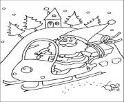 coloring pages of santa claus christmas new yearda23 coloring pages