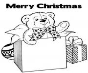 Printable merry christmas  giftsa255 coloring pages