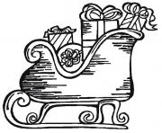 sleighs santa free coloring christmas pages3389 coloring pages