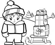 printable s christmas snowydd43 coloring pages