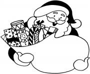 kids santa printable s christmas04f3 coloring pages