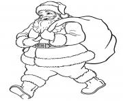 coloring pages of santa claus wants to go605b