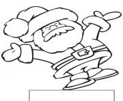 Printable exciting santa claus sb88e coloring pages