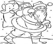 Printable coloring pages for kids xmas santa printable5b05 coloring pages