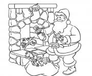 presents and santa printable s christmas13b8 coloring pages